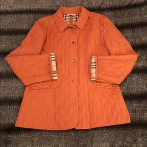 EUC Burberry Constance Quilted Jacket in size L